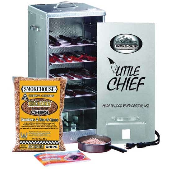 little chief electric smoker for jerky