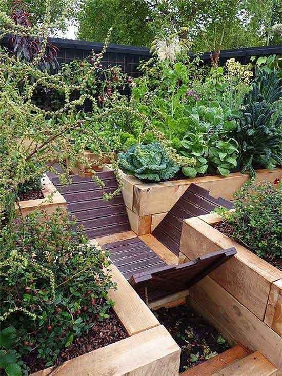 trench compost system