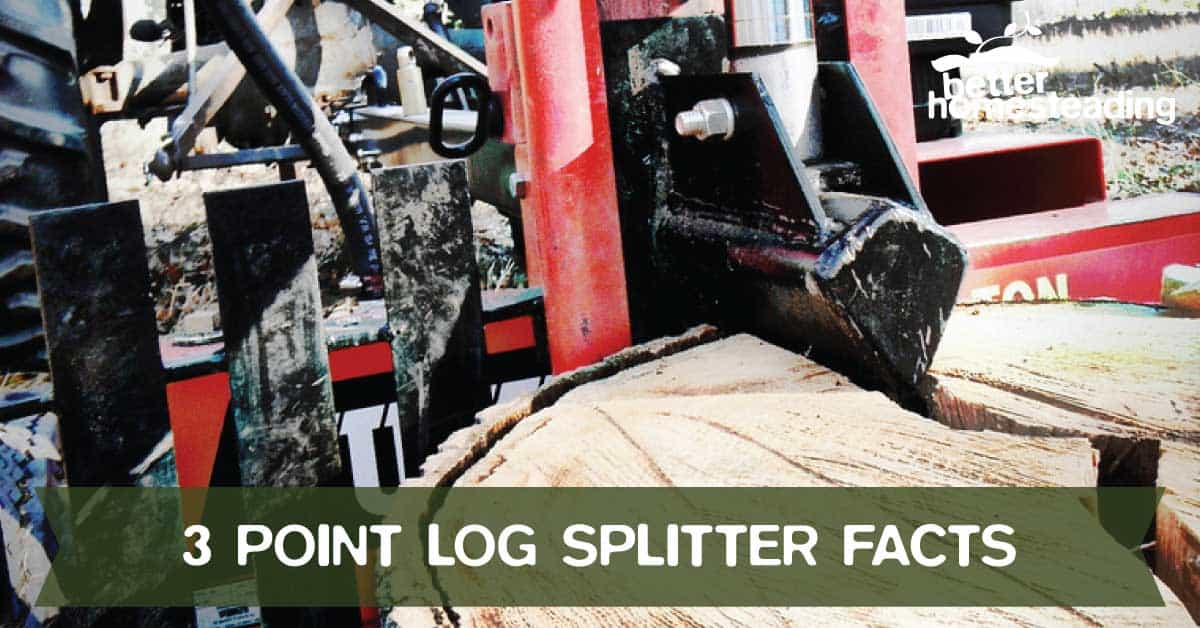 3 point log splitter facts