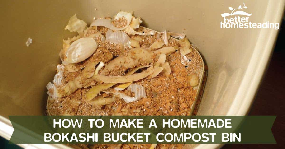 Homemade Bokashi Bucket