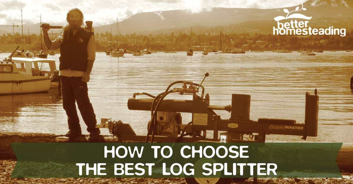 How to choose the best log splitter