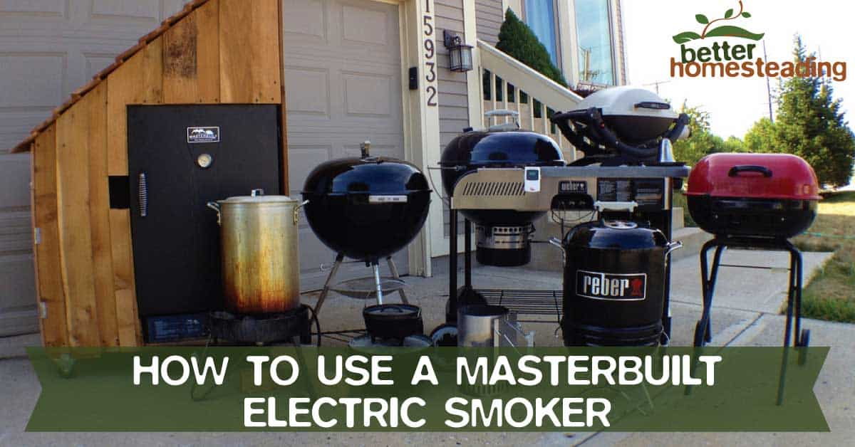 How To Use A Masterbuilt Electric Smoker Tips (STEP BY STEP