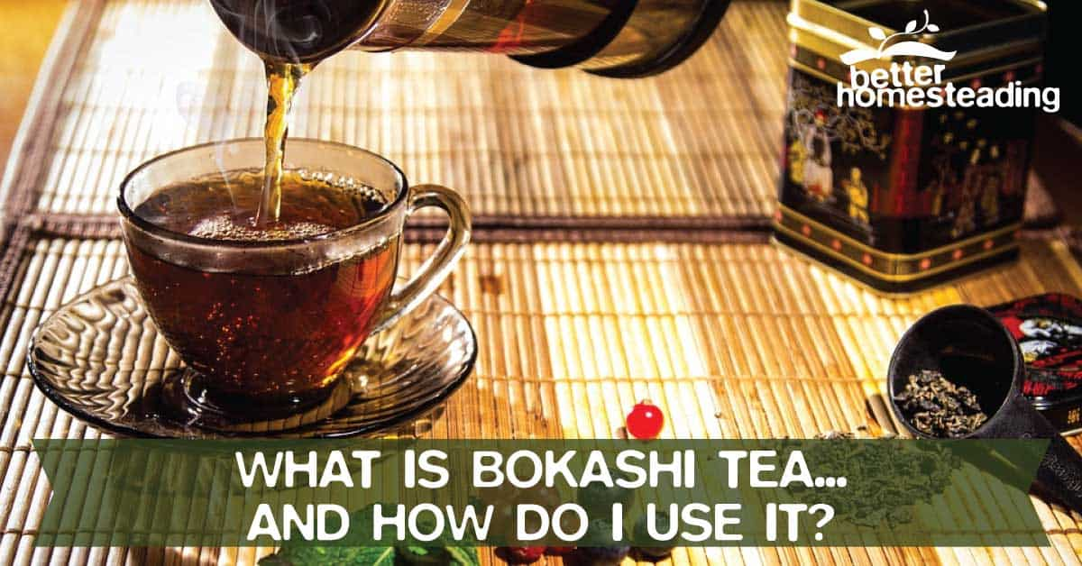 Bokashi Tea - Cup Of Tea