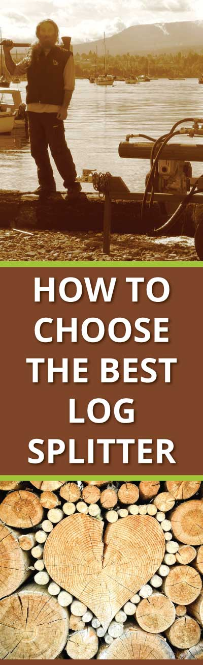 Choosing the best log splitter pin it