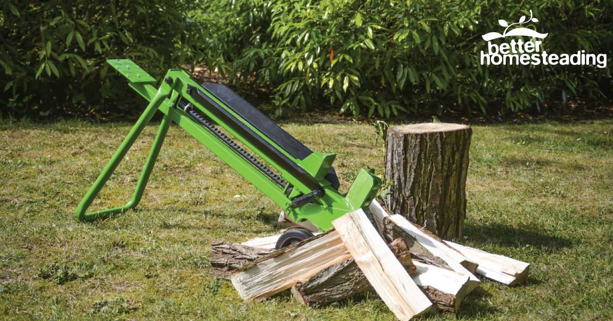 Manual Log Splitter with split logs
