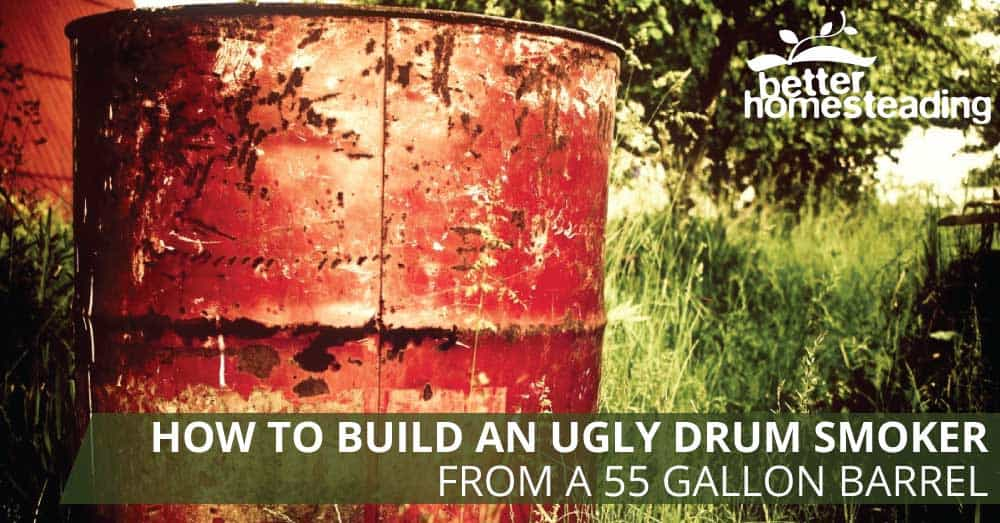 How to build a smoker from a 55 gallon drum like this one using basic tools and hardware