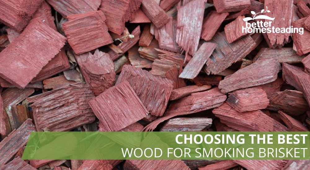 Wood chips like these are the best wood for smoking brisket